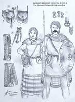 Germanic Men and Women of the Migration Era by Gambargin