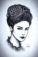 A Russian Beauty by Gambargin