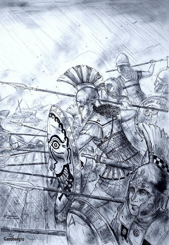 HWS Ancient Greek Women Warriors Concept I by Gambargin