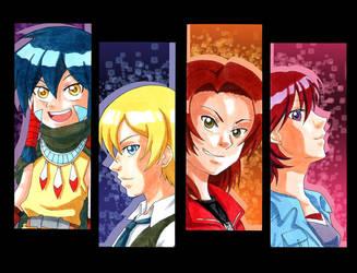 Digimon Savers by KoujiGirl