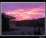 Purple sky by AbadonV