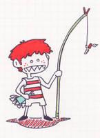 fisher kid by monokoma