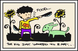 Eating Green Dogs by monokoma