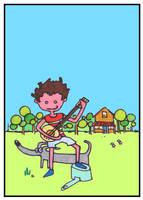 Country Kid by monokoma