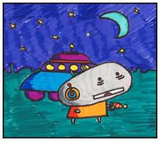 Subterranean Homesick Alien by monokoma