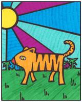 Paper Tiger by monokoma