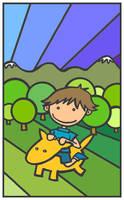 Fluttering Pastures by monokoma