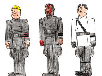 Other members of the First Order High Command by JR-Imperator