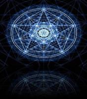 Blue Pentagram by hopelessxdreams
