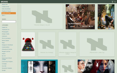 DeviantArt Filter v5.1.0 by rthaut