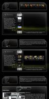 Galaxy Interface by rthaut