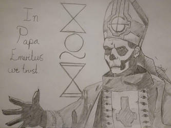 Papa Emeritus by misterjalle