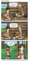 AOT: Where's Mikasa? by Chiaticle