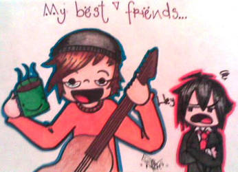 Mikey and his friends by emonoka