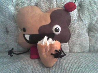 muffin and bolillo by emonoka