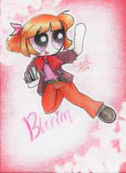 Morning Ma'am!! |Genderbent Blossom: Meet Blerim! by SugarBubbles2000