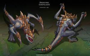 Prehistoric Cho'gath by Yideth