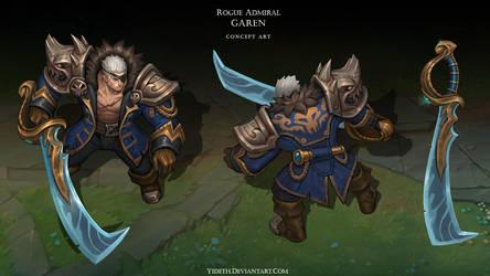 Rogue Admiral Garen by Yideth
