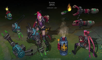 Slayer Jinx by Yideth
