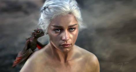Daenerys by nazflo2007