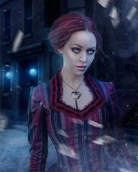 Penny Dreadful - Digital art by nazflo2007