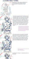 colored pencil tutorial by taintedsilence