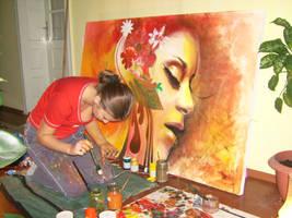 painting by MissyDiamond1