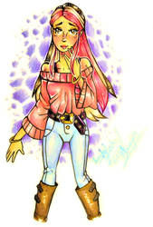 Drawing Neopolitan ice cream as a character! by Bowgirl5