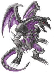 Black Skull Dragon by ancient-secrets
