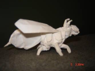 Origami Wasp by KamiWasa