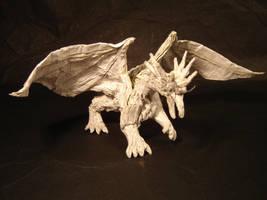 Origami Ancient Dragon by KamiWasa