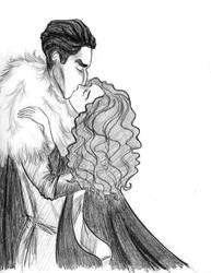 A kiss for Valentine's day by WickedSnowWhite