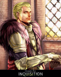 Dragon Age Inquisition: Cullen by SaraSama90
