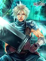 FF7 Remake: Cloud Strife by SaraSama90