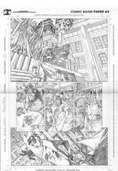 Batman sample page by robsonrocha