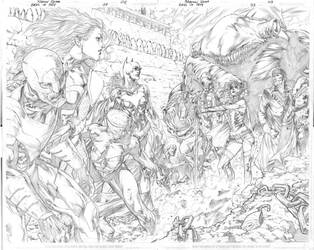 Birds of Prey 33 pages 02 and 3 by robsonrocha