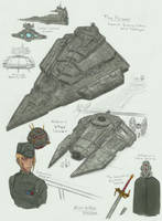 Inquisitor Galgriev - sketches + ships by MidoriNoHonoo