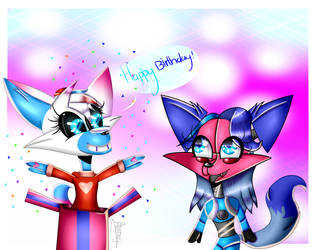 Happy [late] Birthday! (GIFT) by IharmooXx