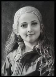 Portrait of a girl by AtelierKunz