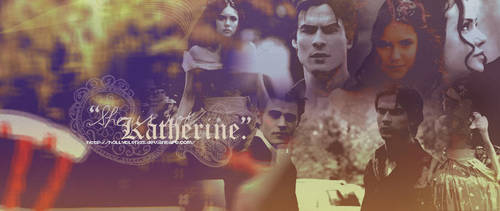 She is not Katherine by hollyblends
