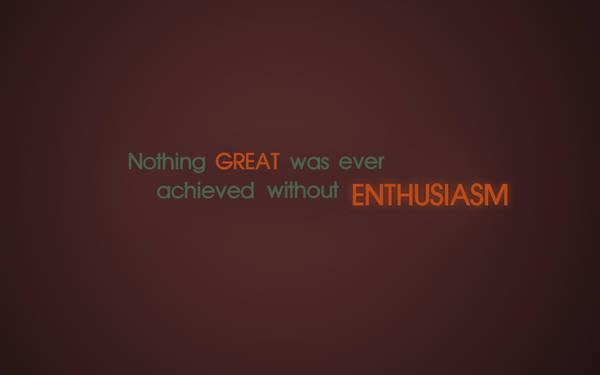 Great enthusiasm by richardtank