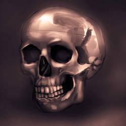 Skull Study by matchesmalone899