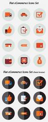 Flat eCommerce Icons Set Free Download by DesignsCanyon