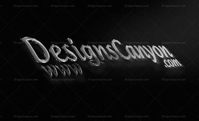 3D PSD Logo Mockup Template by DesignsCanyon