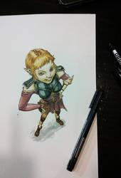 Sera from Dragon Age Inquisiton - Color by Ignifero