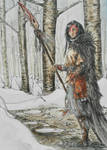 the witch in the woods by Ignifero
