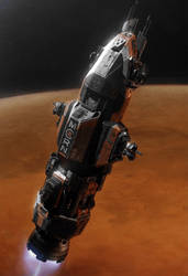 Rocinante by Bloodrave1984