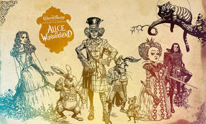 Alice in Wonderland by MagnoliaGlass