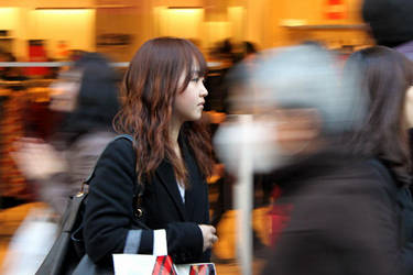 Shibuya Walking Speed by seraphinx