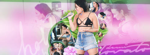 Demi Lovato Facebook Cover by dlyerdem